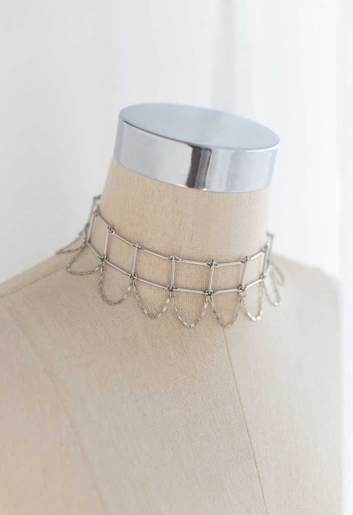 Ladder Link Chain Choker