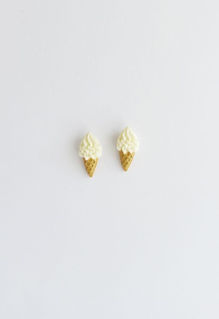 Sweet Ice Cream Earrings