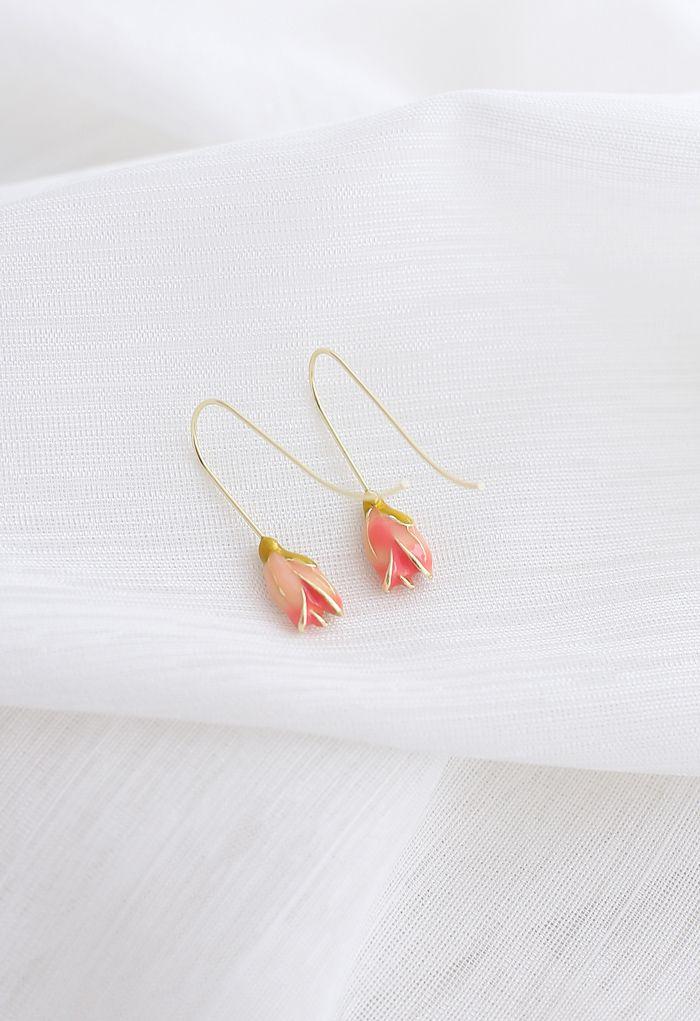 Boucles d'oreilles à crochet tulipe