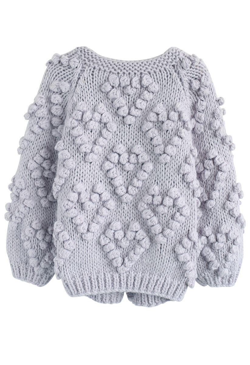 Tricoter Votre Amour Cardigan en Lavande