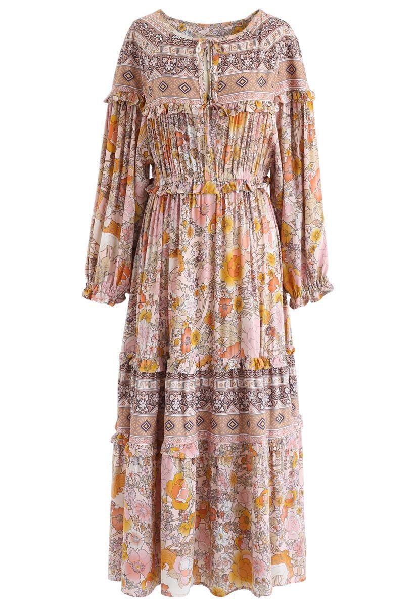 Wonderland Vacation Maxi Dress