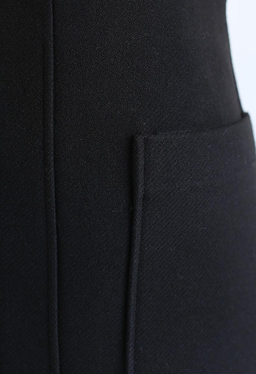Pocket of Charm Mini Skirt in Black