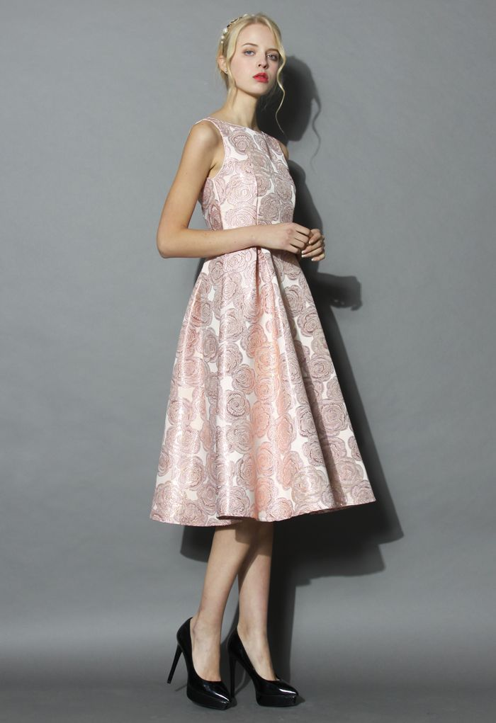 Rose Fantastique Robe de Bal en Rose