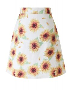 Dancing Sunflower Mini Bud Skirt