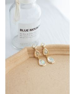 Colorful Crystal Drop Earring