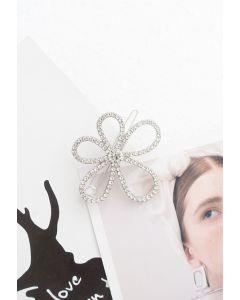 Élégante épingle à cheveux Daisy en cristal