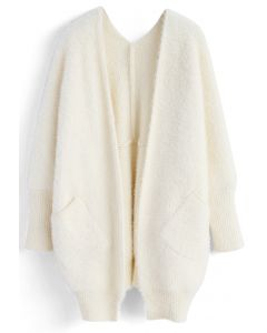 Confortable en Fascination Cardigan en Blanc