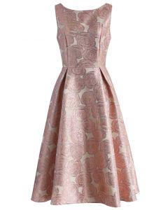 Rose Fantastique Robe de Bal en Rose