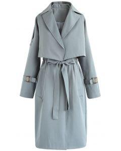 Twinset Coat Nouveau Look Teal