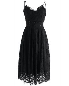 Spirit of Romance - Robe camisole en dentelle noire