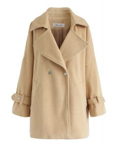 All We are Belted Manteau en jaune
