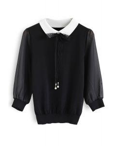Le tricot Wildest Dreams en noir