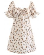 Mini-robe imprimée Sweet Floret
